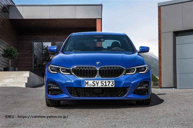 BMW3シリーズがフルモデルチェンジ!日本販売時期と価格を予想!
