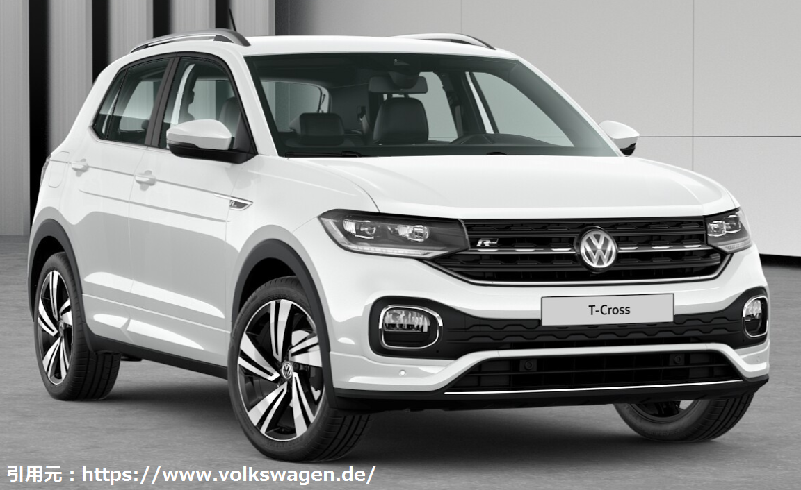VW最小のSUV「T-Cross(Tクロス)」の日本仕様の販売時期いつ?価格はいくら?グレードを予想!