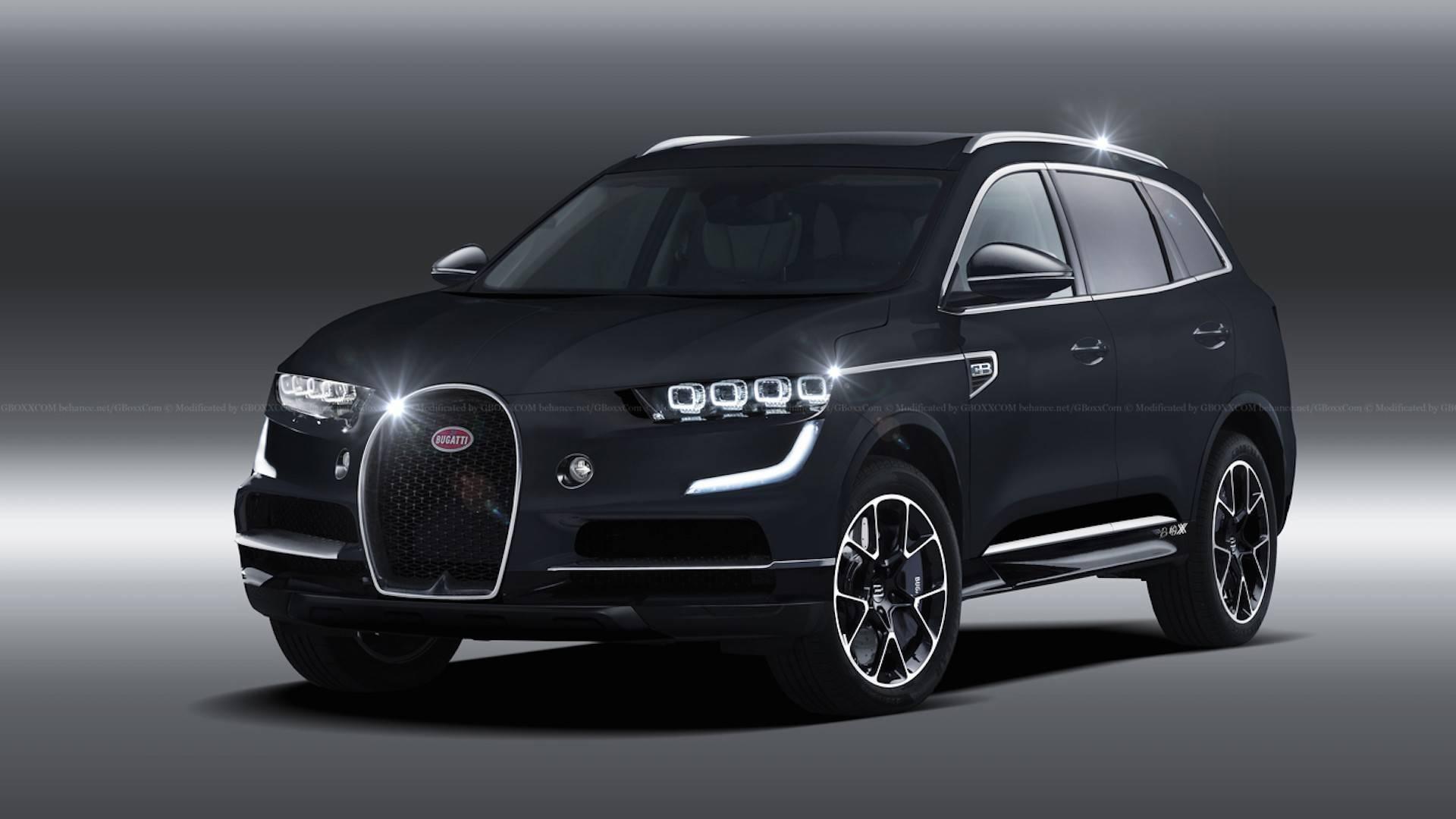 ブガッティが初のSUVを発売?新型車は1800馬力越えのエンジン搭載の可能性も?