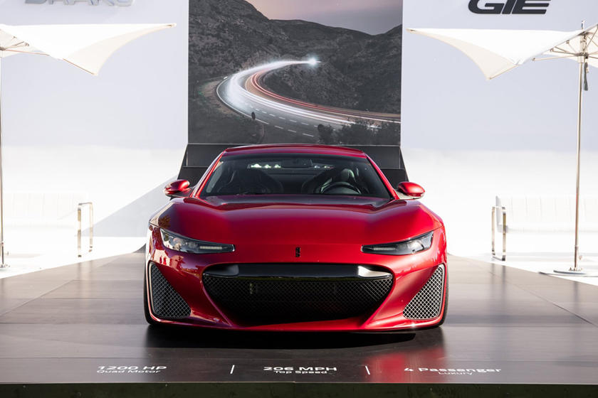 Drako Motorsが1200馬力の電気モーターのスーパーカー「GTE」を発表!
