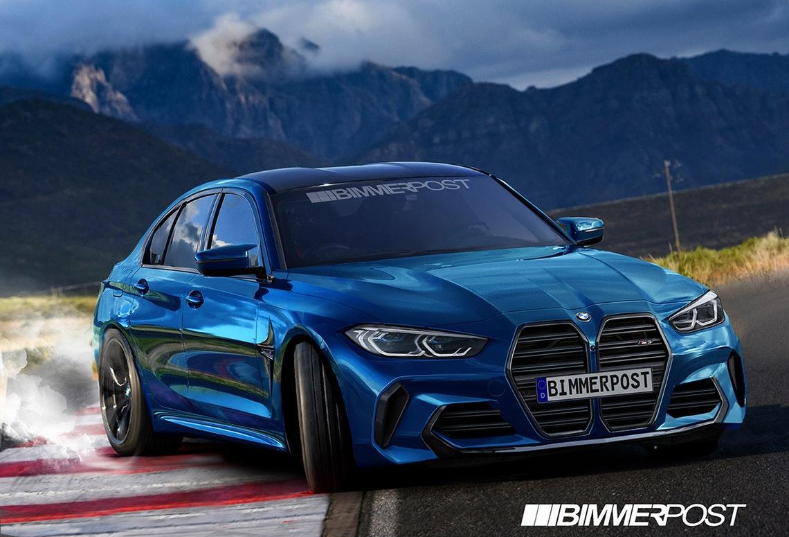 BMWの最速モデルである新型「M3」の完成予想CGスゴイ!本当にこれで発売するの?