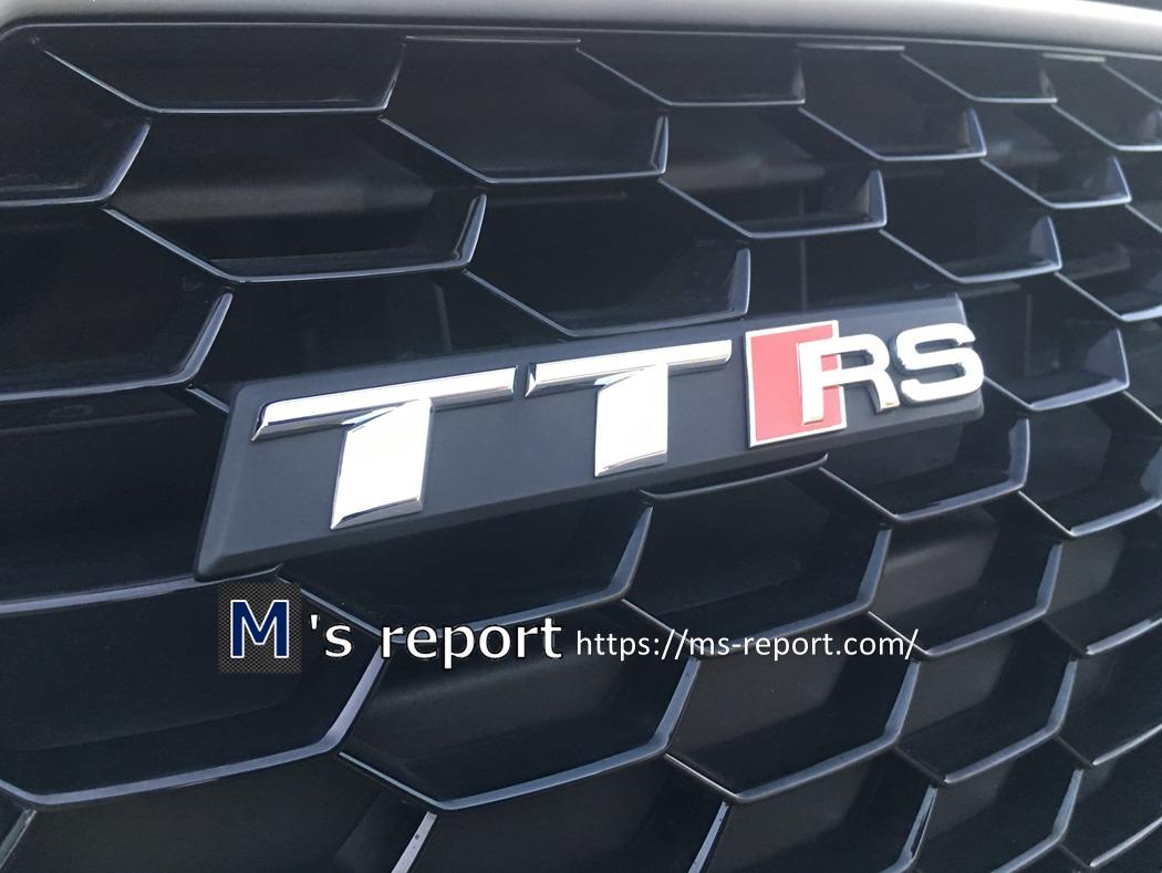 アウディ「TTRS」試乗インプレ!強烈な加速力とハンドリングに高評価!